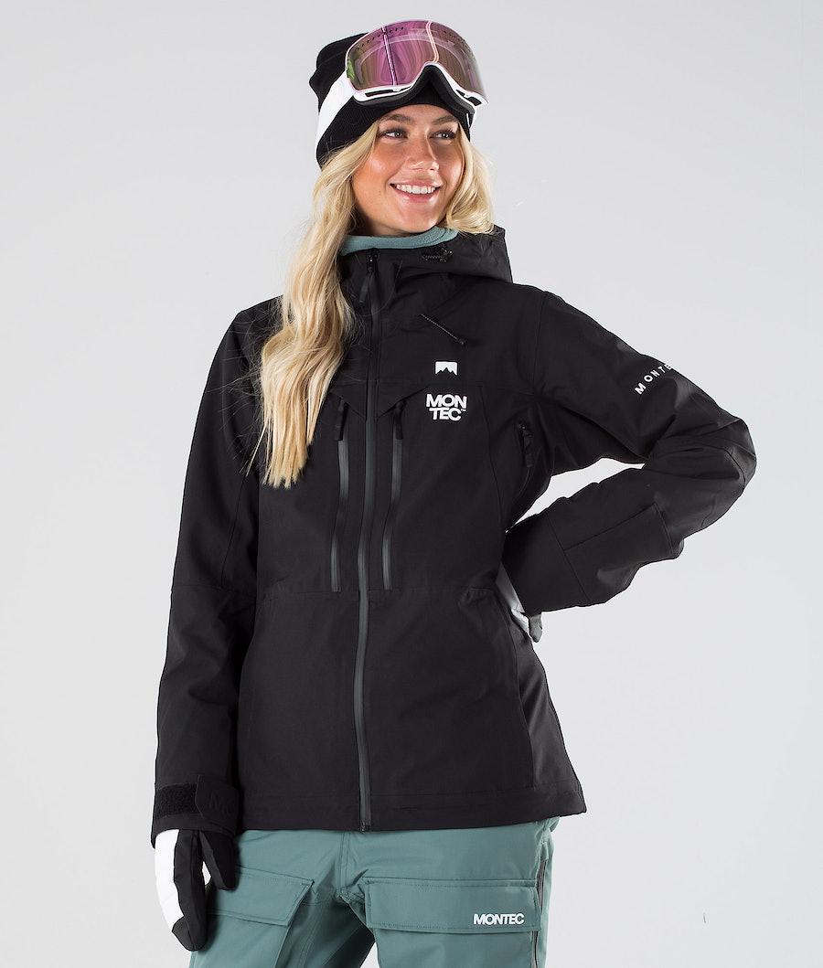 Montec Moss Ski Jacket Black