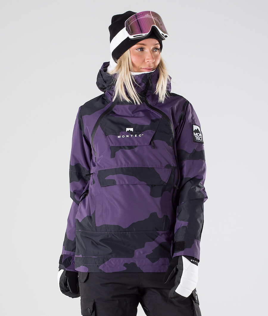 Montec Doom W Veste de Ski Grape Camo