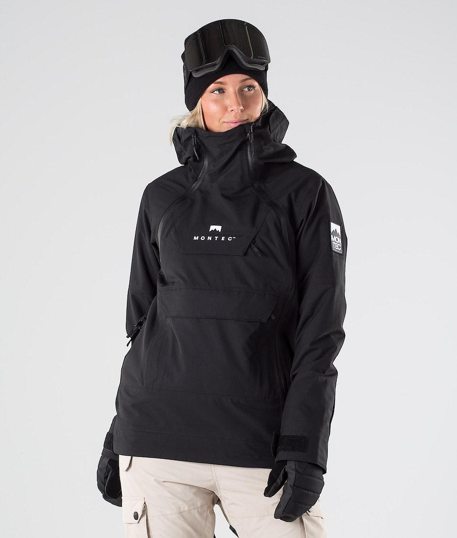 Montec Doom W Snowboard Jacket Black