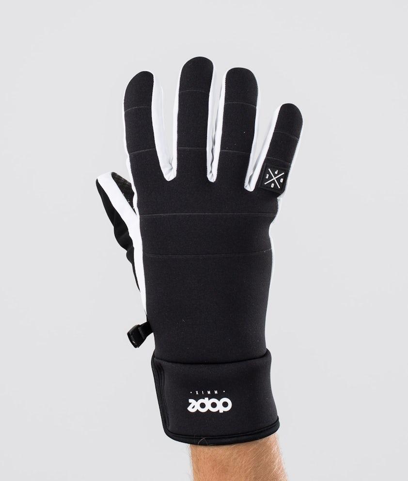 Signet Glove Ski Gloves Men Black White