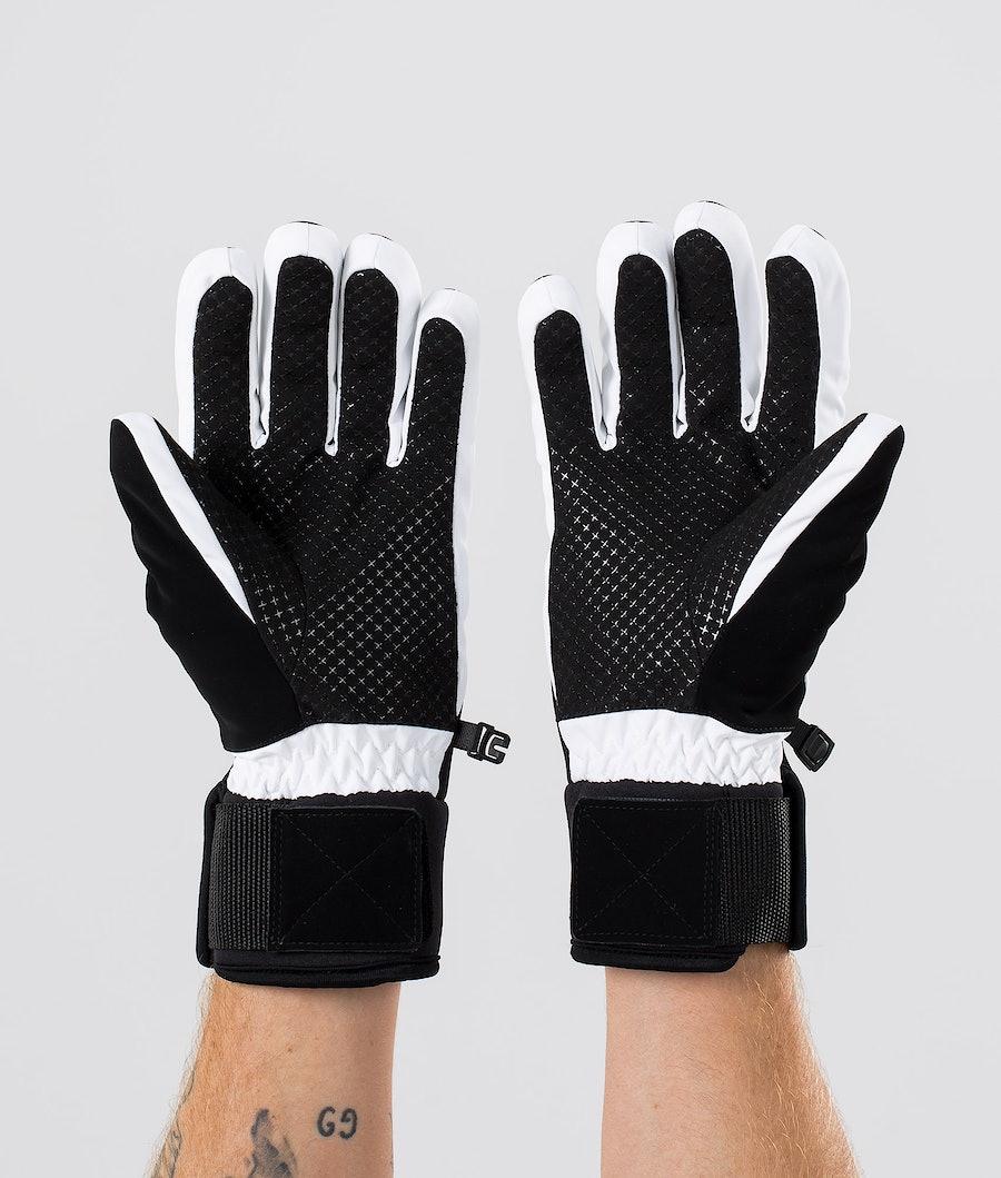 Dope Signet Glove Skihansker Black White