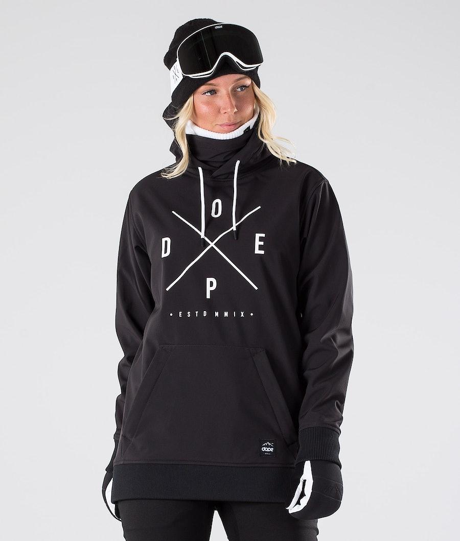Dope Yeti W Skijakke Dame Black