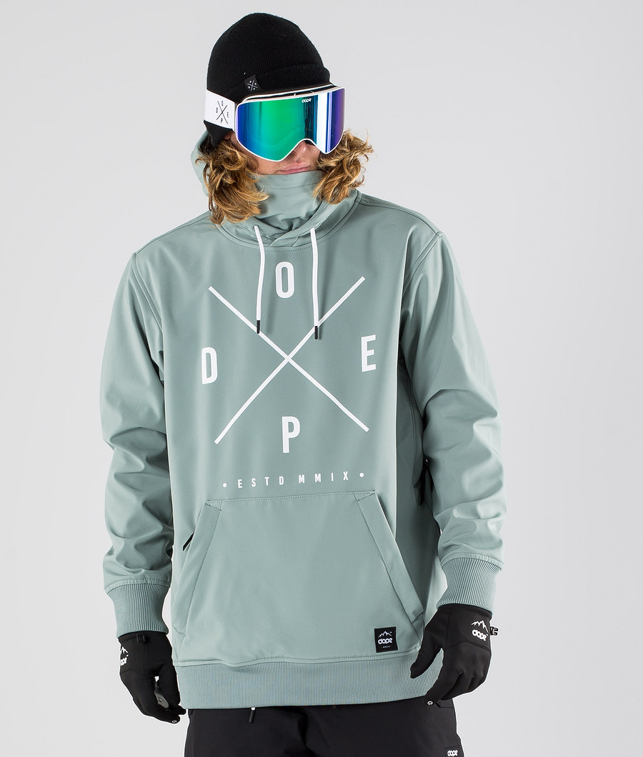 Dope Yeti Ski Jacket Faded Green