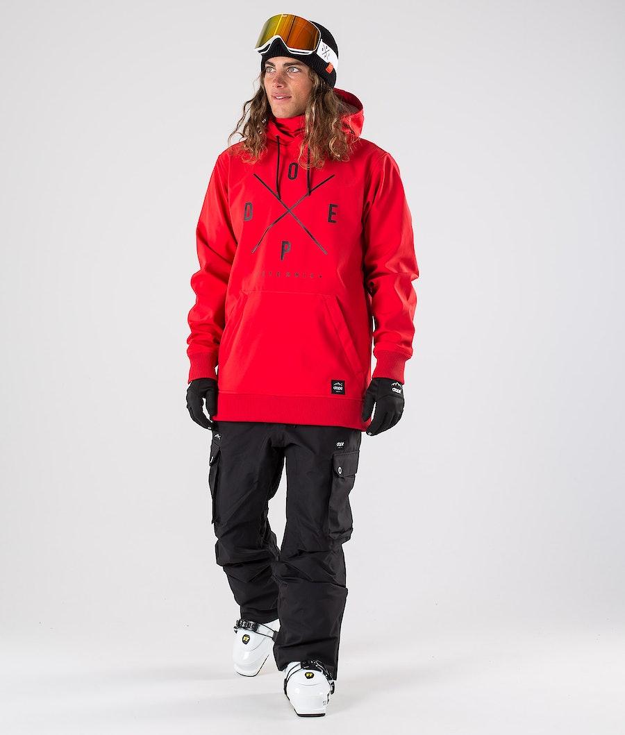 Dope Yeti Ski Jacket Red