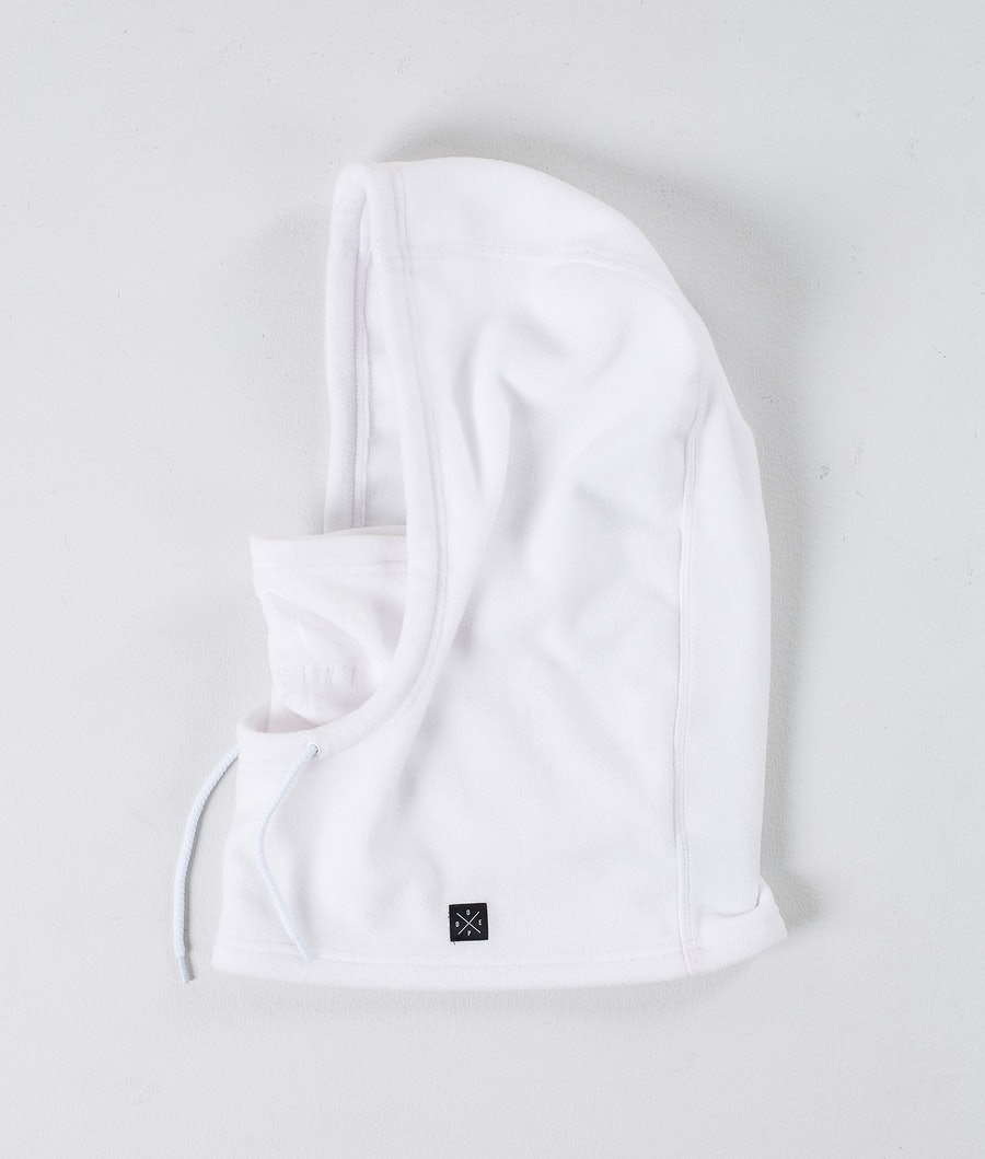 Dope Cozy Hood Women's Facemask White