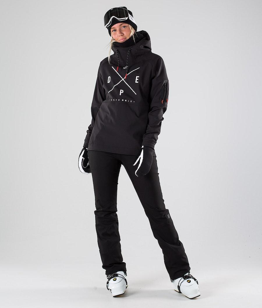 Dope Rambler MTE W Skijacke Damen Black