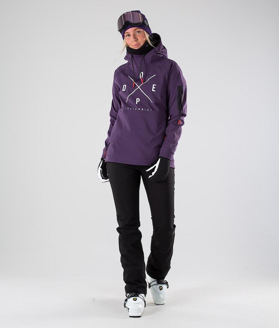 Dope Rambler MTE W Veste de Ski Femme Grape