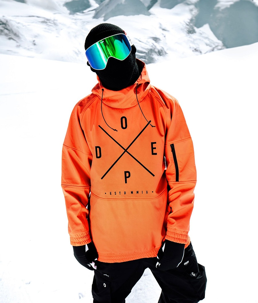 Dope Rambler MTE Snowboard Jacket Orange