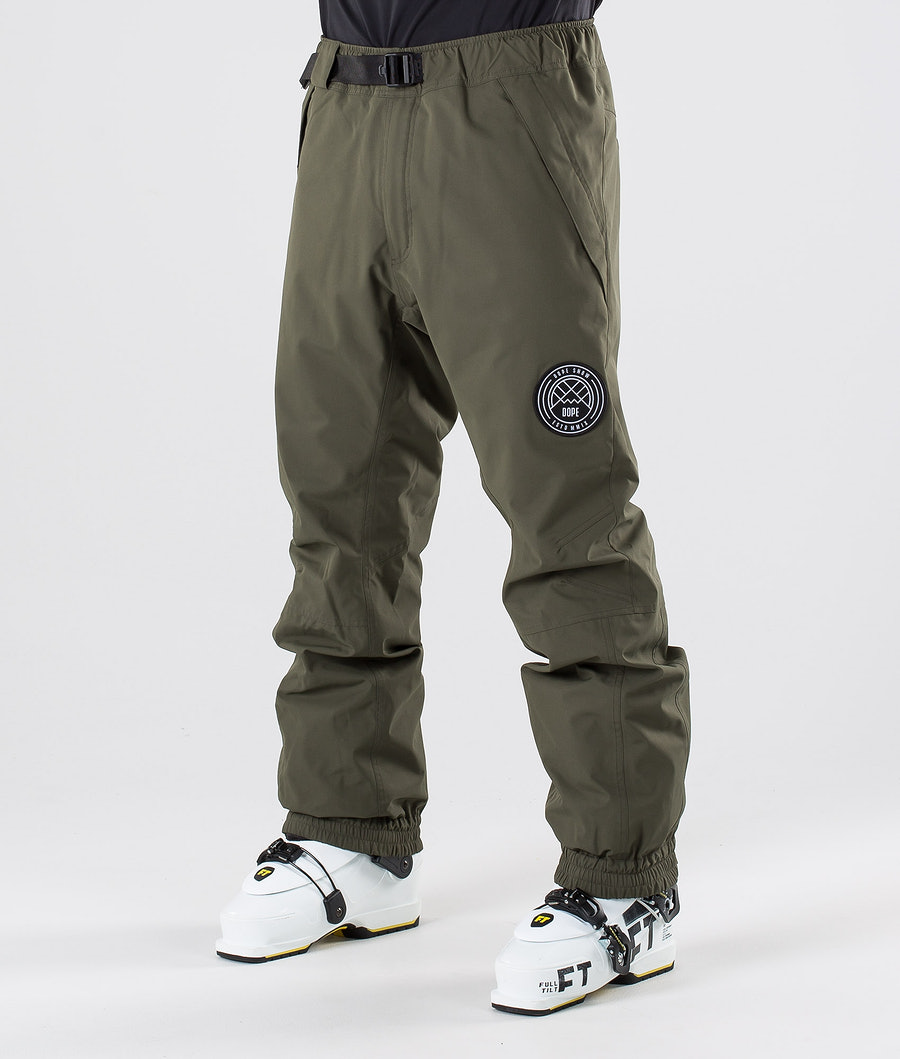 Dope Blizzard Ski Pants Green