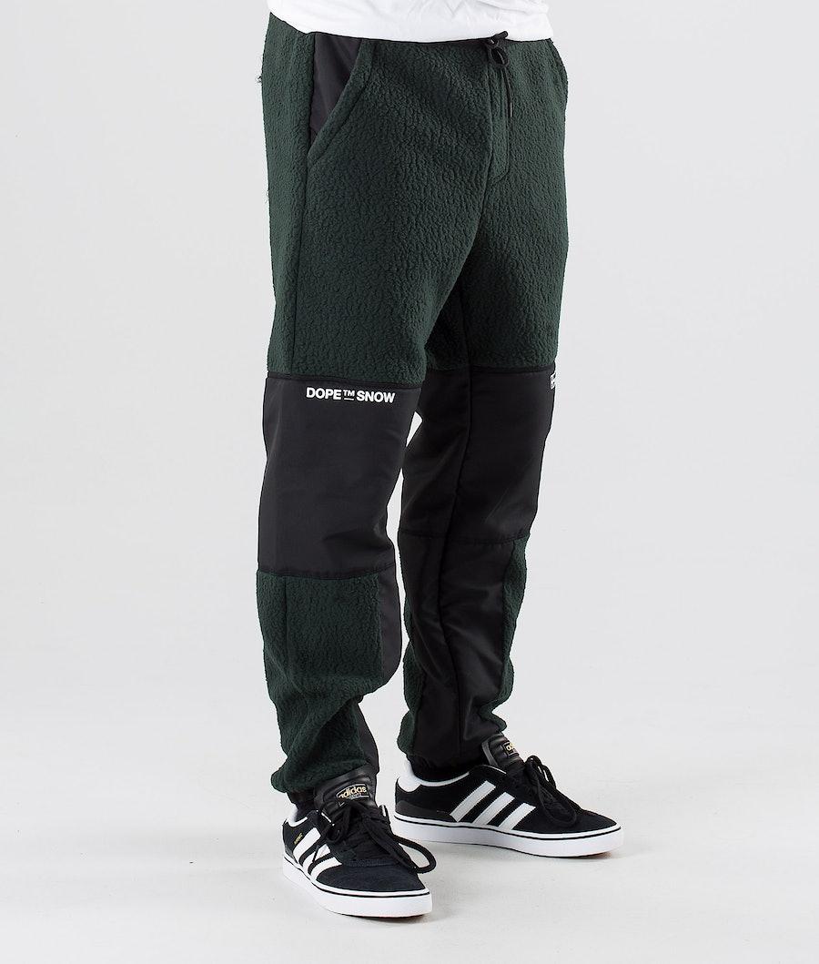 Dope KB Ollie Fleecebukse Green Black