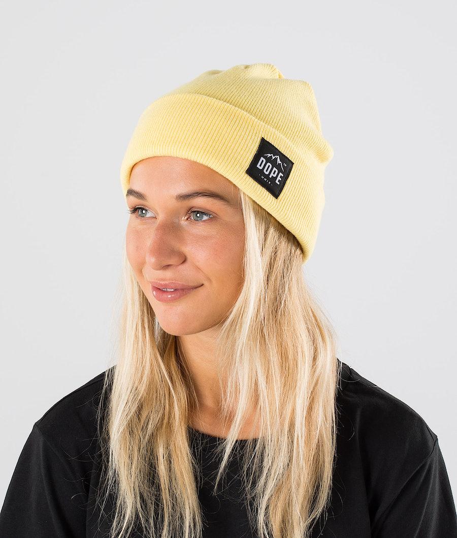 Dope Paradise Beanie Yellow