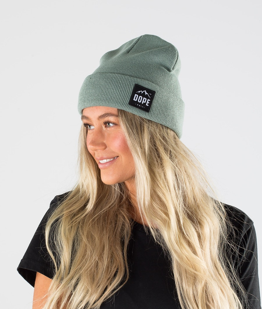 Dope Paradise Beanie Faded Green