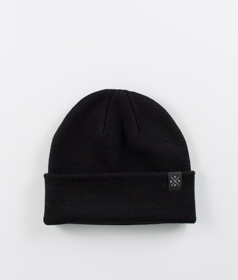 Dope Folded Solitude Beanie Black