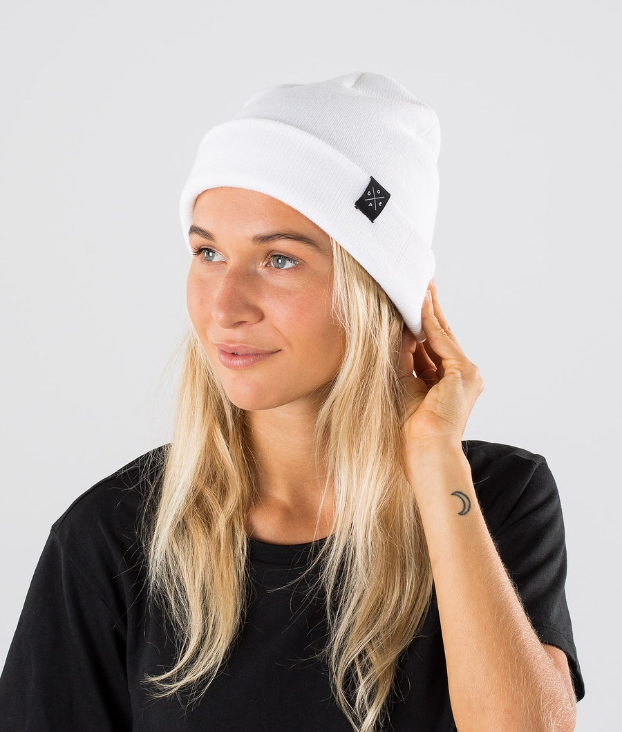 Dope Solitude Women's Beanie Optic White