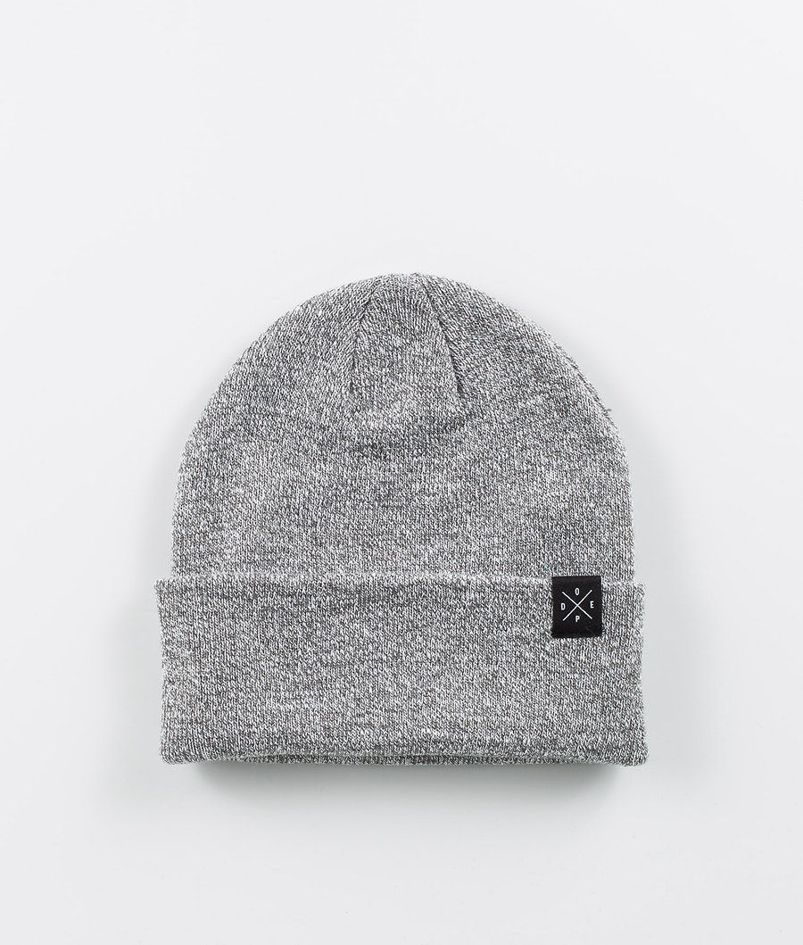 Dope Folded Solitude Bonnet Grey Melange