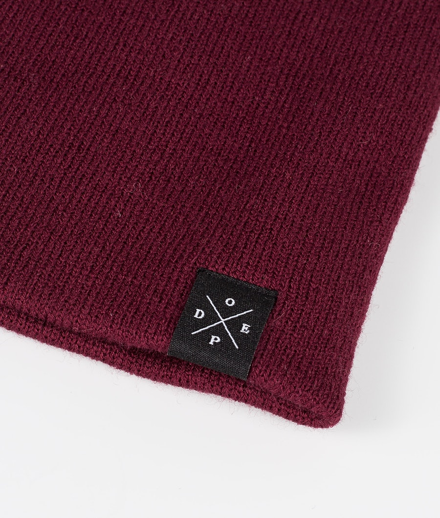 Dope Solitude Women's Beanie Burgundy