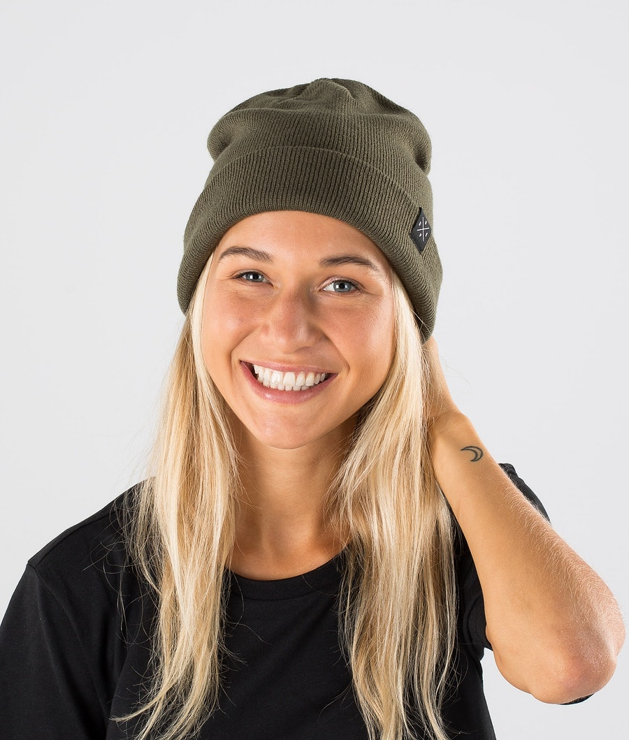 Dope Solitude Beanie Green