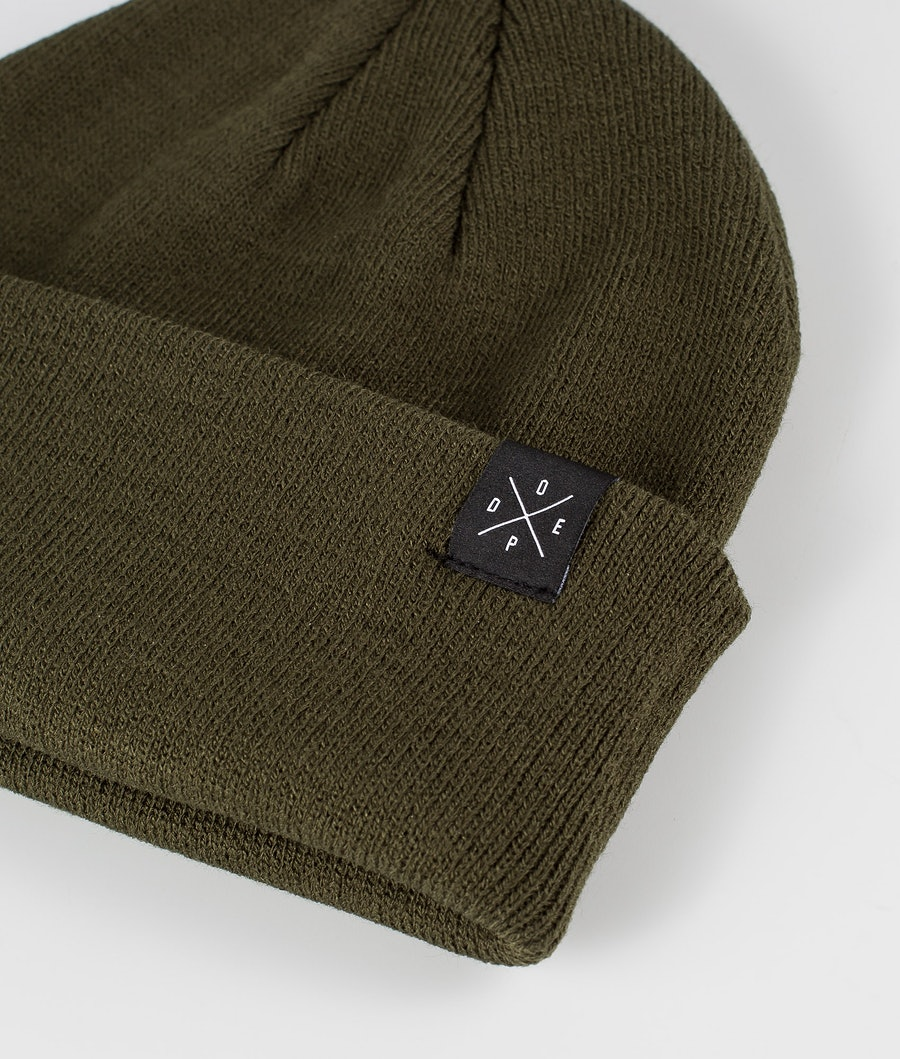 Dope Solitude Women's Beanie Olive Green