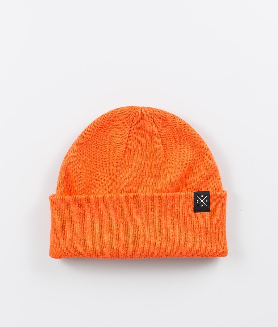 Dope Folded Solitude Beanie Orange