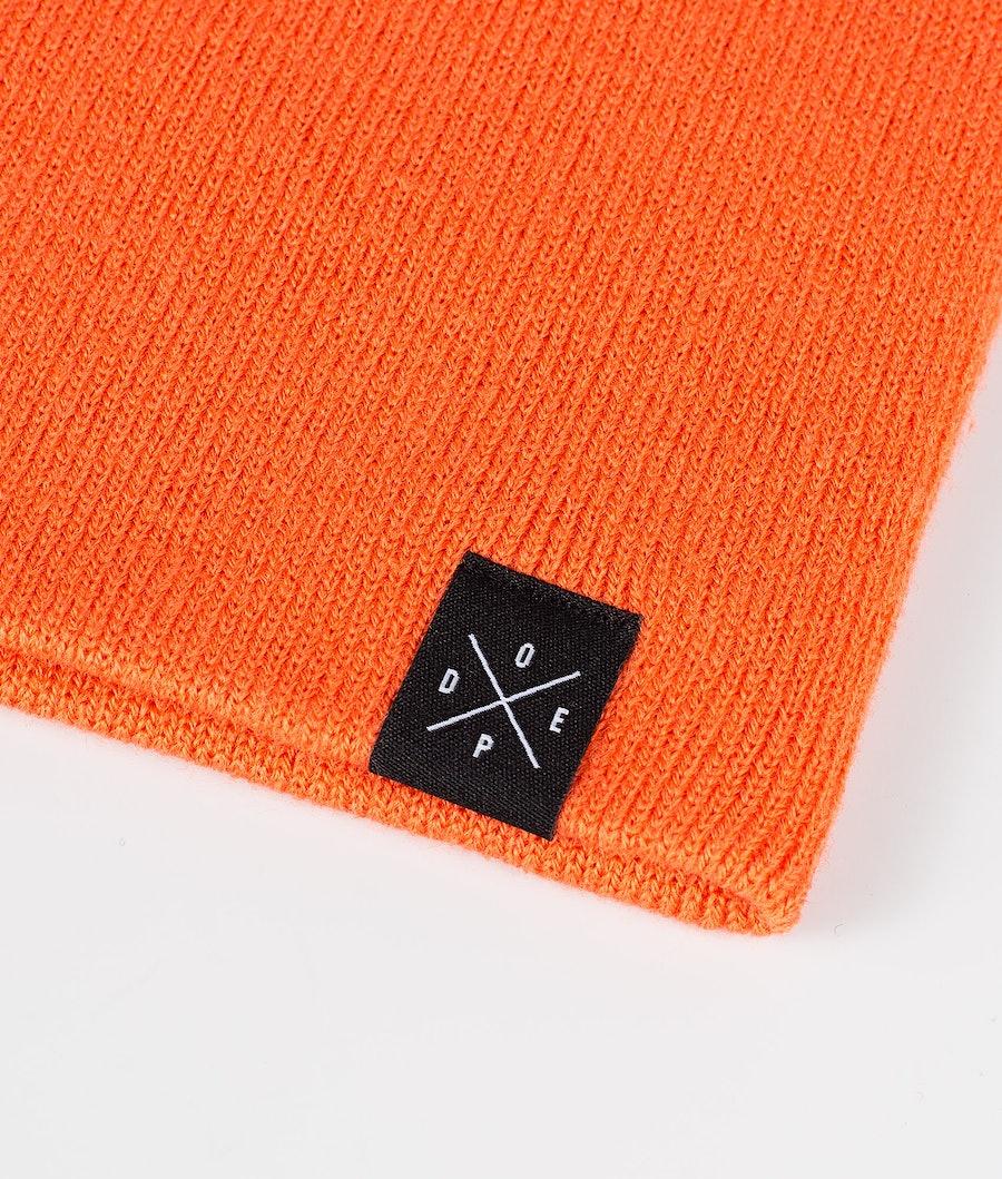 Dope Solitude Bonnet Femme Orange