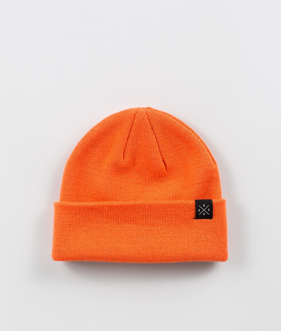 Dope Solitude Bonnet Femme Orange