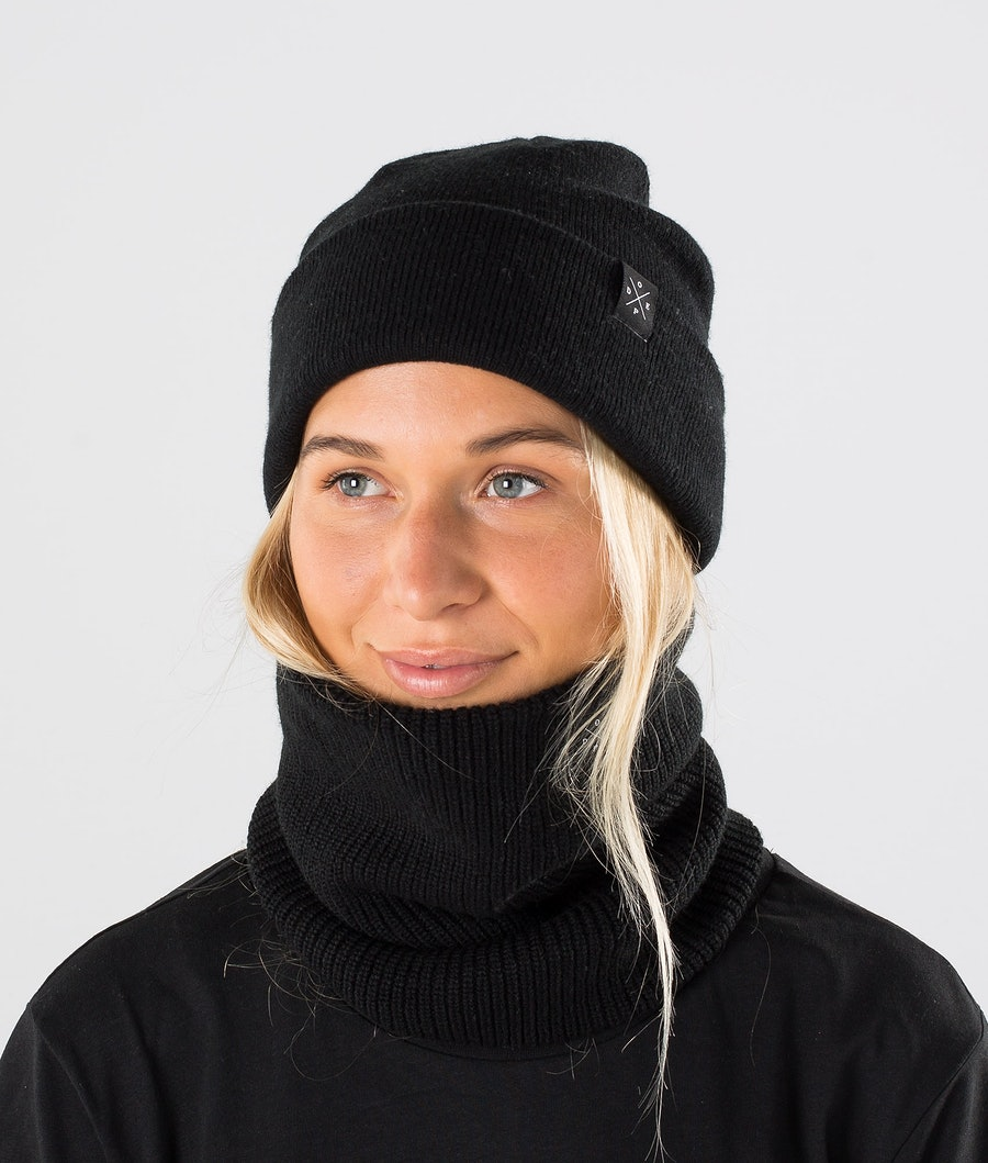 Dope 2X-UP Knitted Tour de cou Femme Black