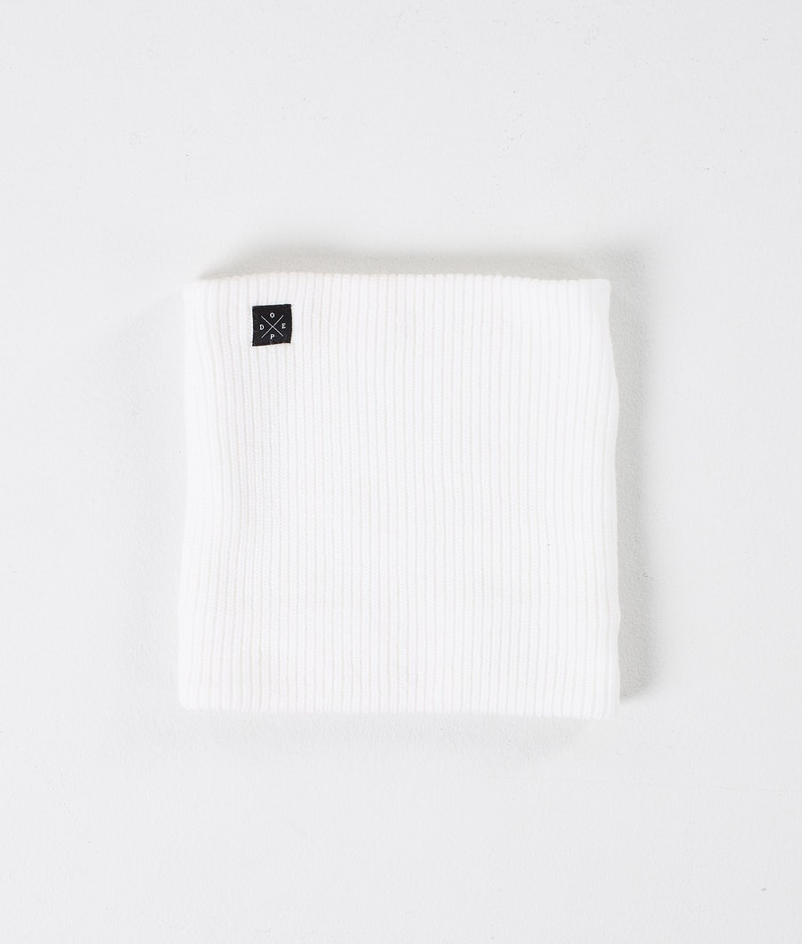 Dope 2X-UP Knitted Ansiktsmask Dam Optic White