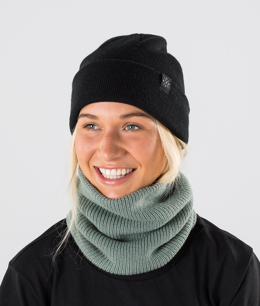 Dope 2X-UP Knitted Skimaske Damen Faded Green