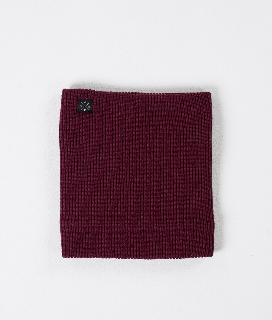 Dope 2X-UP Knitted Ansiktsmask Dam Burgundy