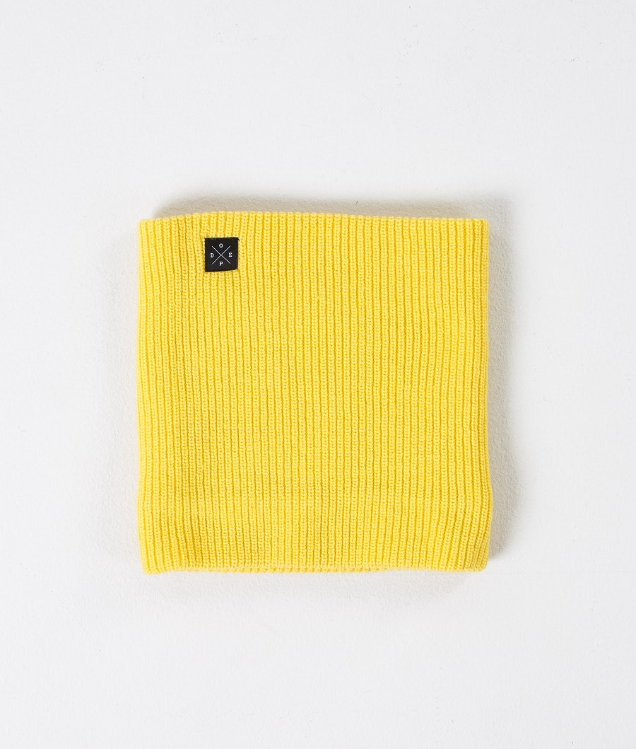 Dope 2X-UP Knitted Ansiktsmask Dam Yellow