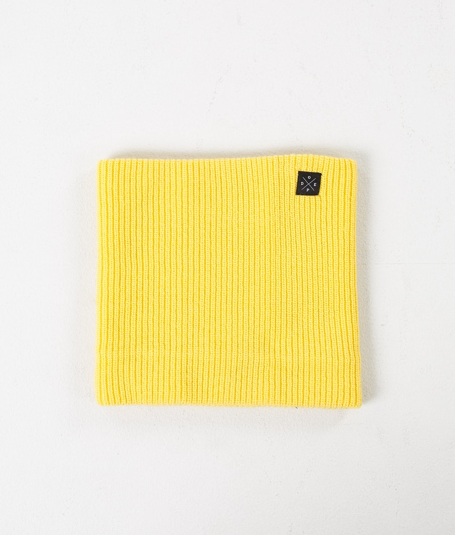 Dope 2X-UP Knitted Tour de cou Femme Yellow
