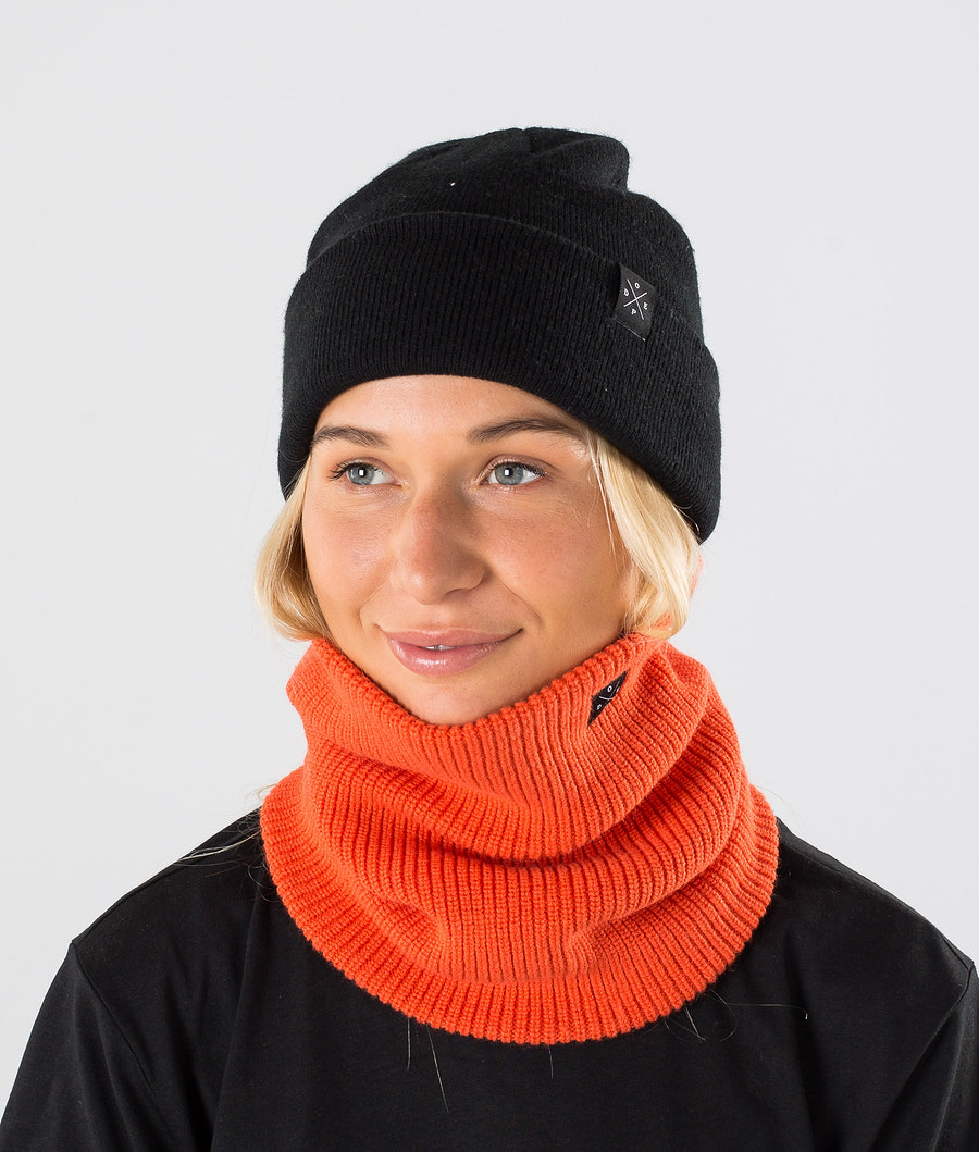 Dope 2X-UP Knitted Skimaske Orange