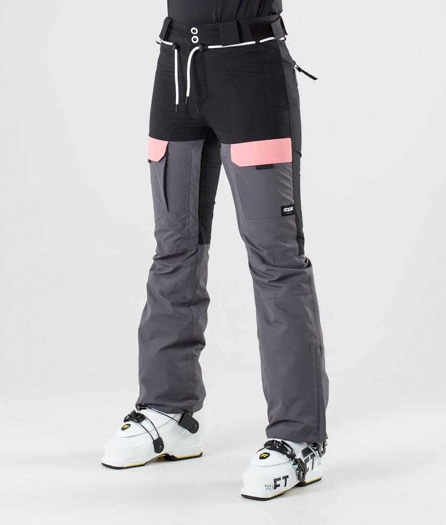 Dope Grace Pantalon de Ski Black Pink Pearl