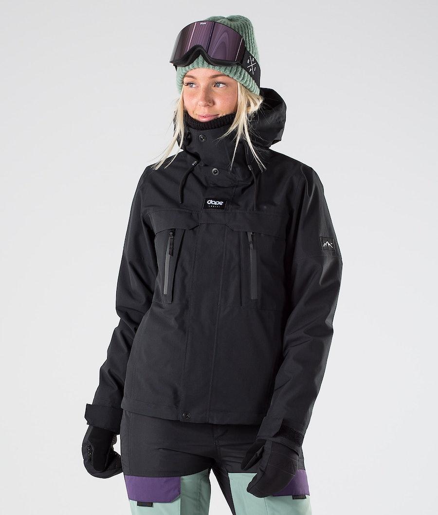 Dope Lunar W Snowboard jas Black