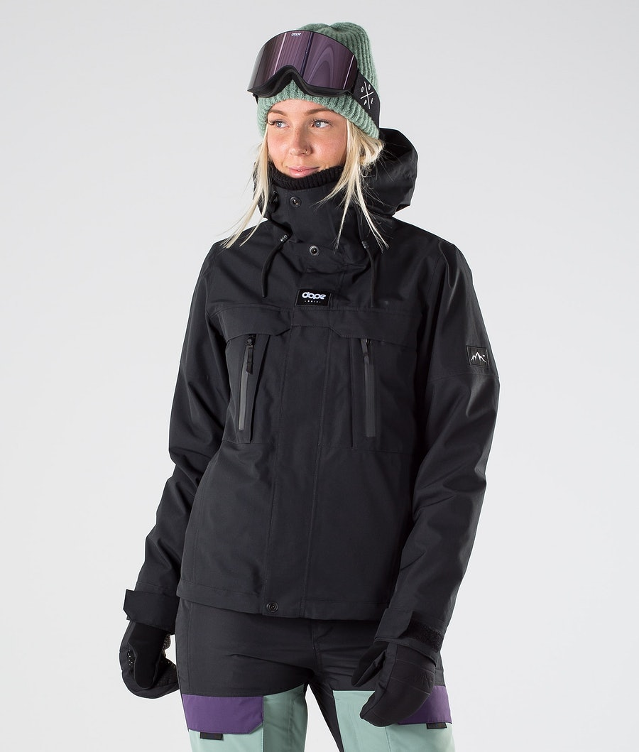 Dope Lunar W Veste de Snowboard Black