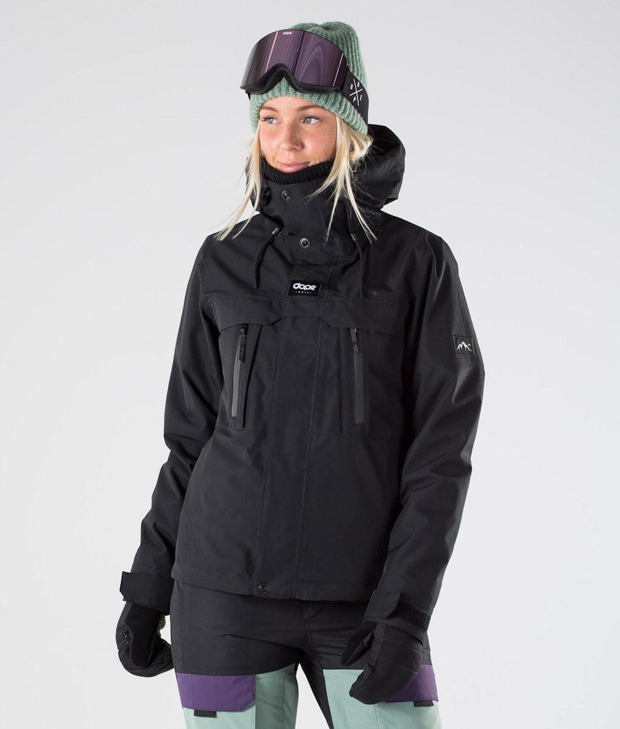 Dope Lunar W Snowboardjakke Black