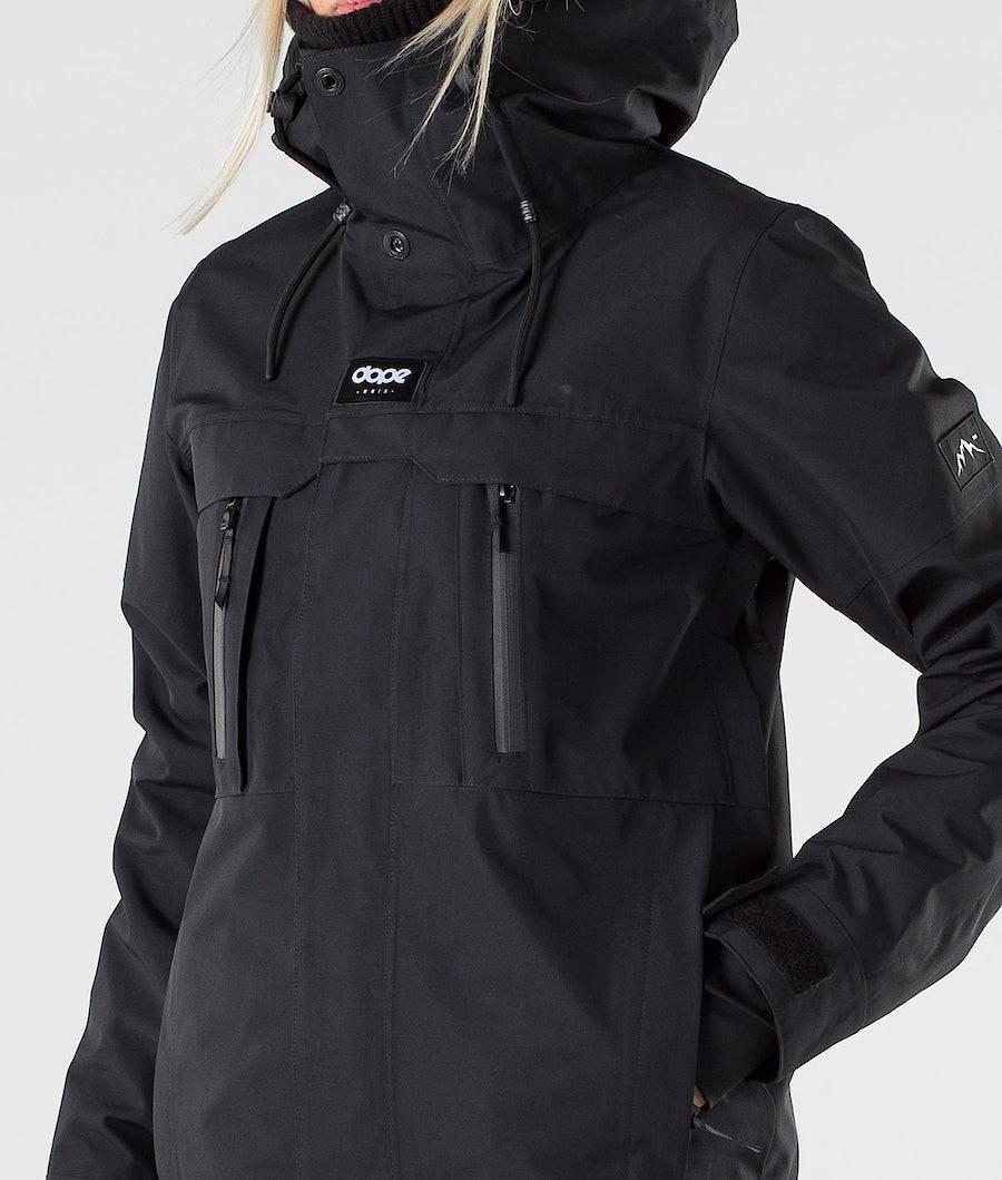 Dope Lunar W Veste de Ski Femme Black