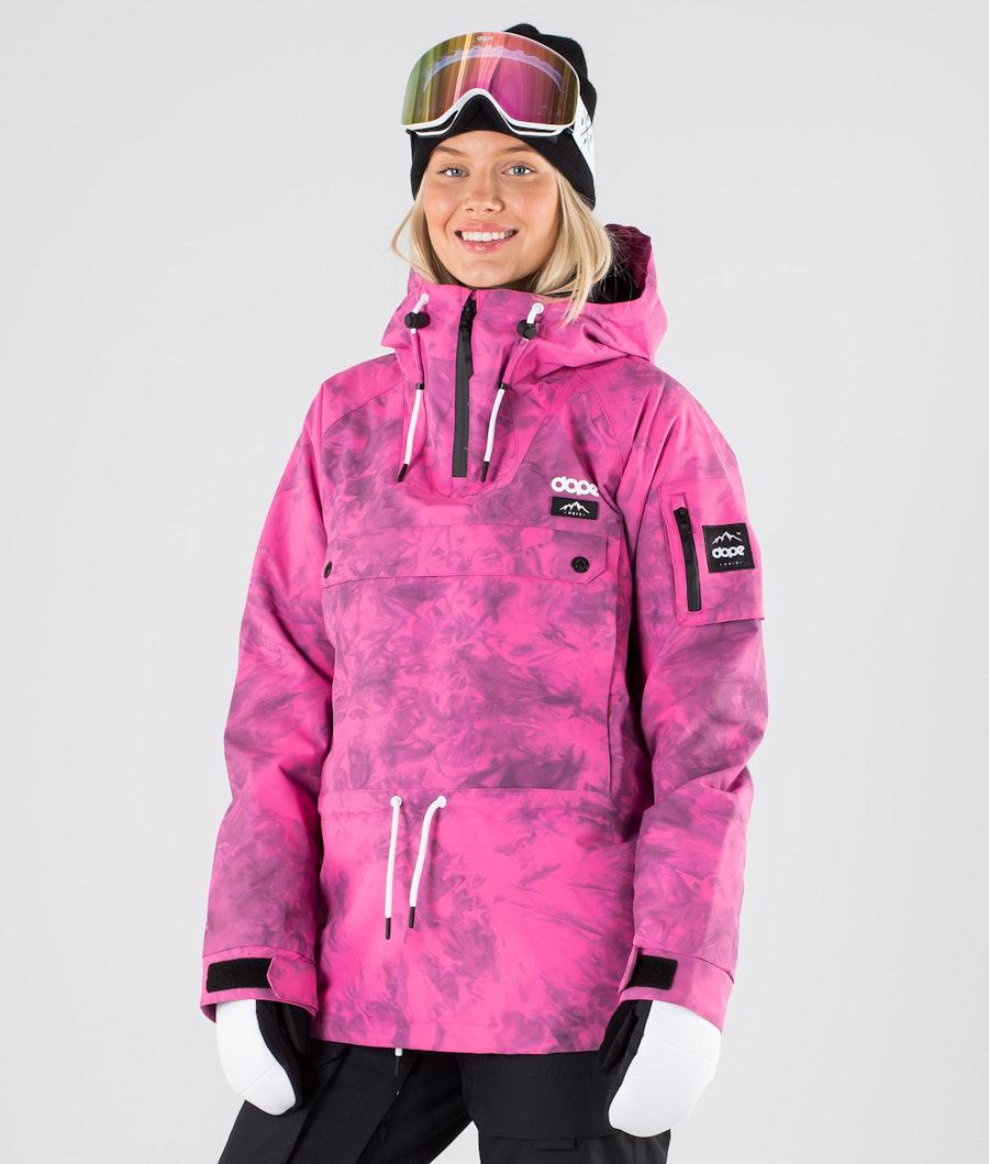 Dope Annok W Ski Jacket Pink Tiedye
