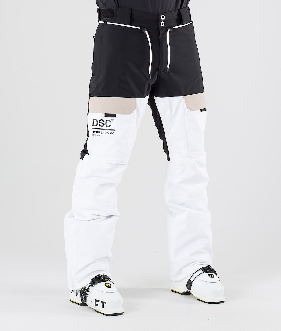 Dope Poise DSC Ski Pants Black Sand White