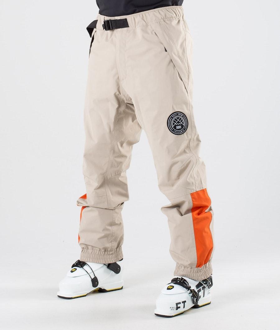 Dope Blizzard LE Ski Pants Sand Orange