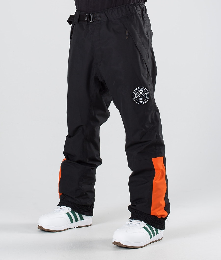Dope Blizzard LE Snow Pants Black Orange