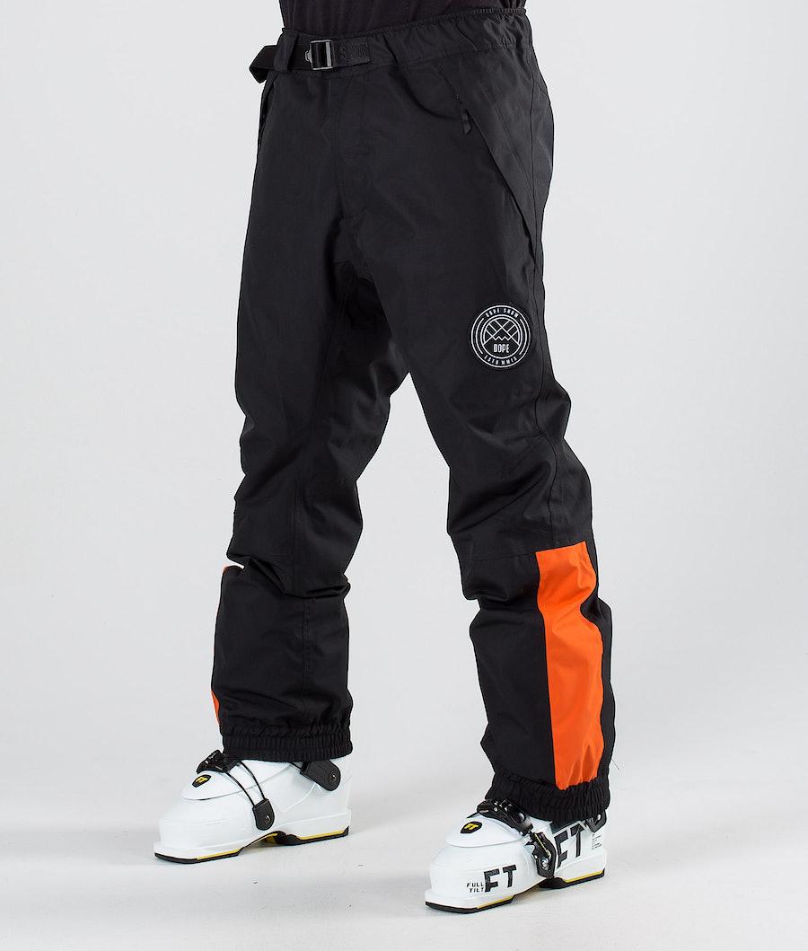 Dope Blizzard LE Ski Pants Black Orange