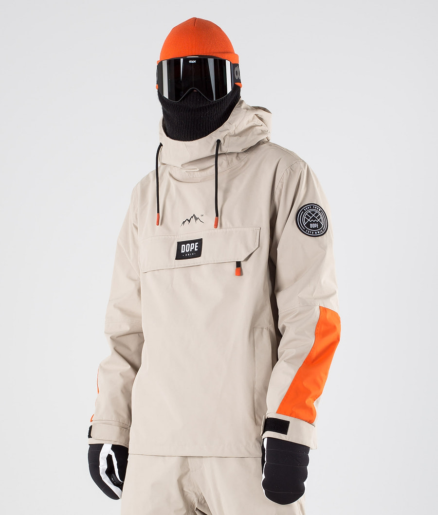Dope Blizzard LE Ski Jacket Sand Orange