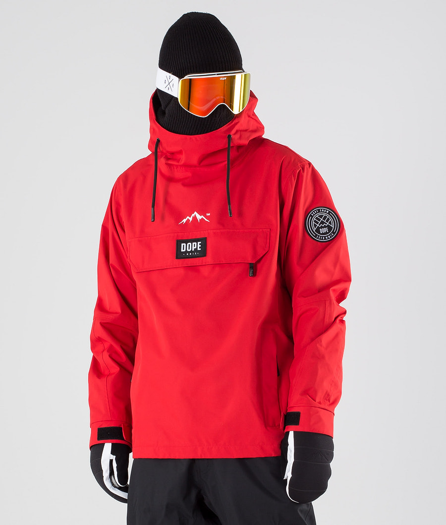 Dope Blizzard LE Ski Jacket Red