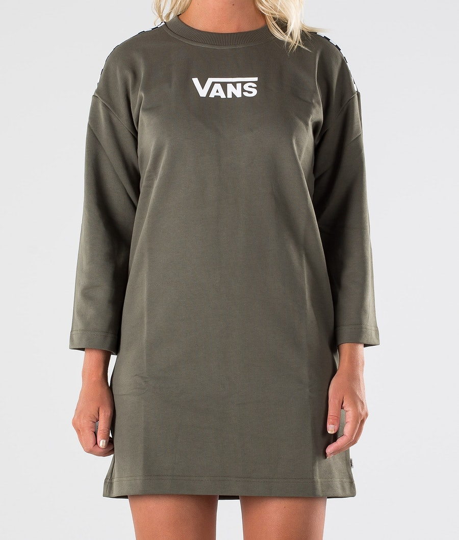 Vans Chromo II Dress Kleid Damen Grape Leaf