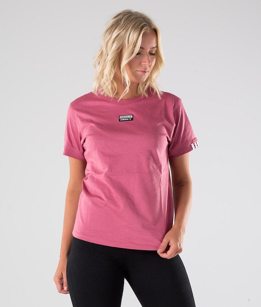 Adidas Originals T Shirt T-shirt Trace Maroon