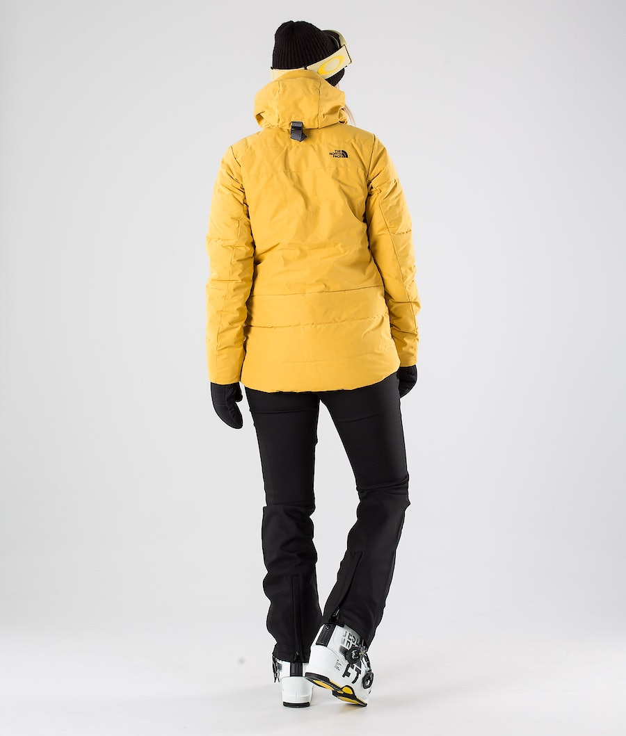 The North Face Pallie Down Skijakke Dame Golden Spice