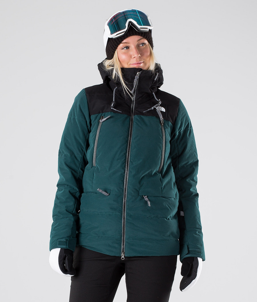 The North Face Pallie Down Skijakke Ponderosa Green/Tnf Black
