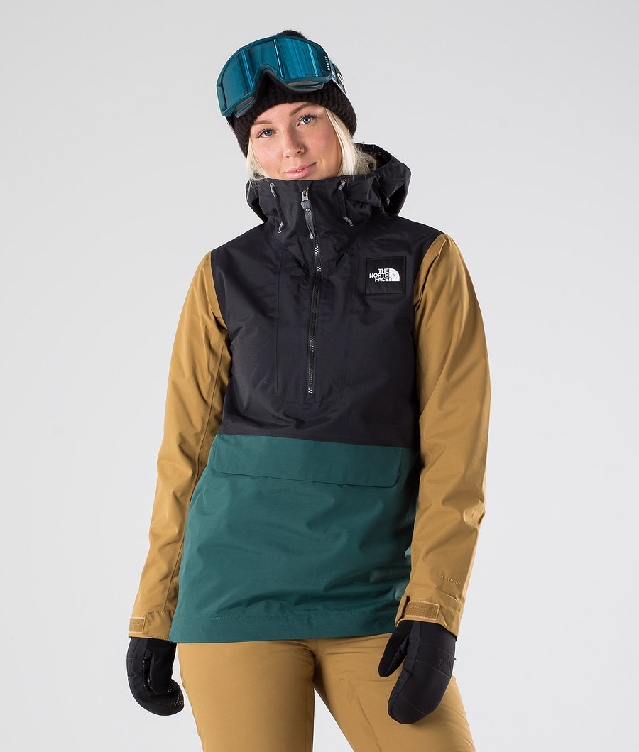 The North Face Tanager Skijakke Tnf Black/Ponderosa Green/Brtshkhk
