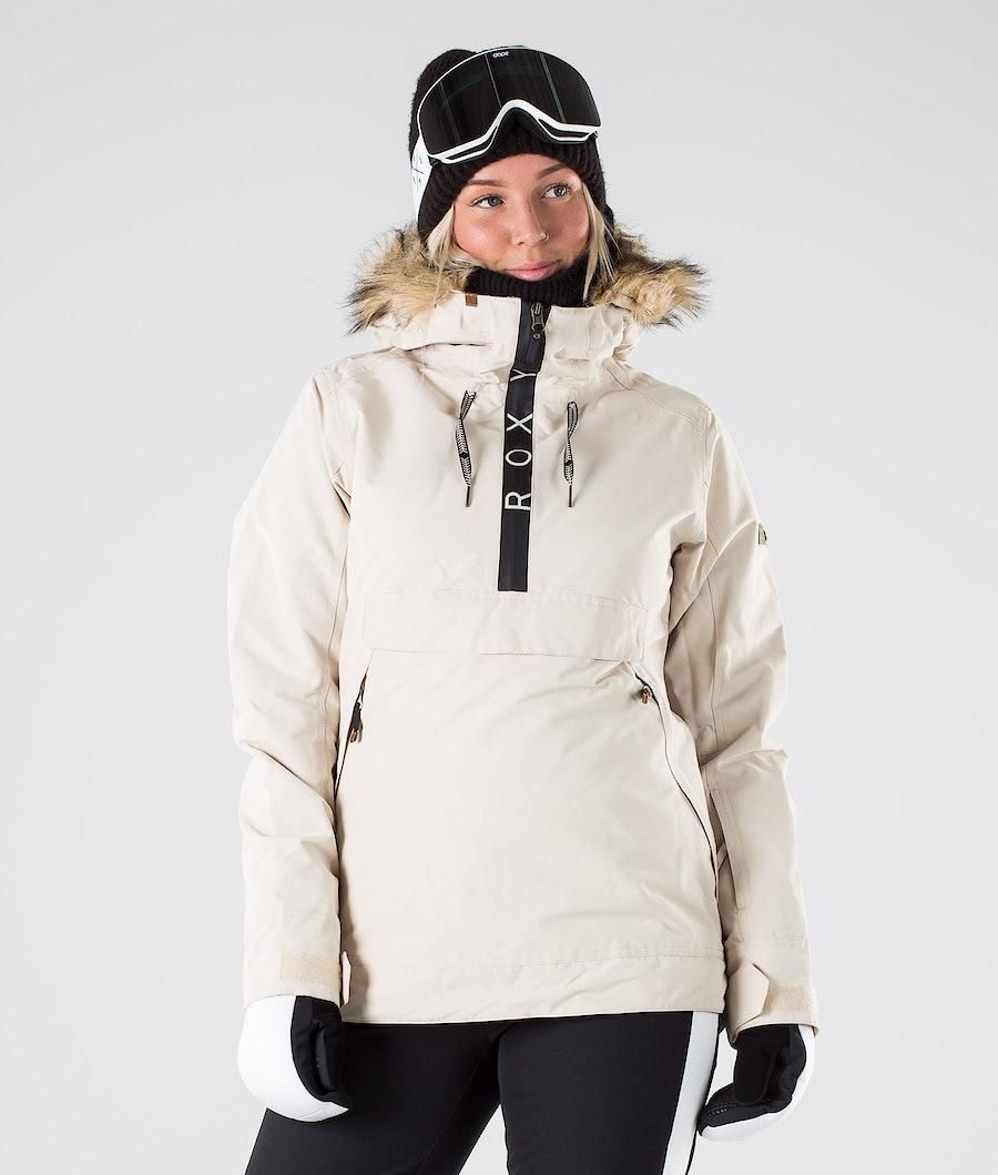 Roxy Shelter Ski Jacket Oyster Gray